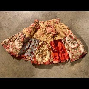 Matilda Jane fall skirt